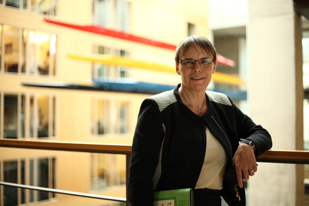 Portrait von Anja Hajduk